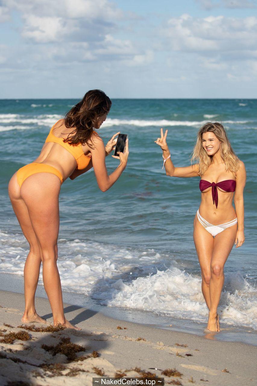 Joy Corrigan Naked joy corrigan sexy in a bikini at miami beach | naked celebs